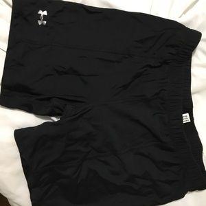 Under Armour black biker shorts